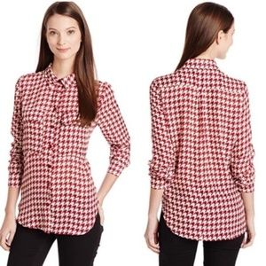 Kut from the Kloth | Nora Houndstooth Blouse